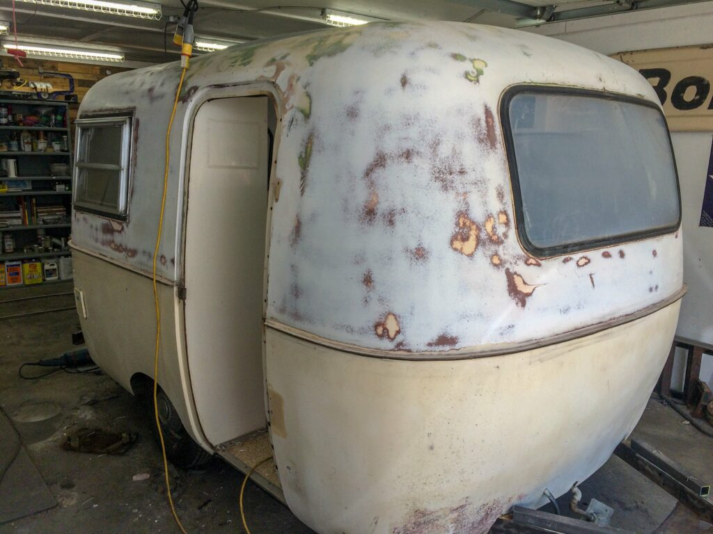 Project: Minnie the Boler Before