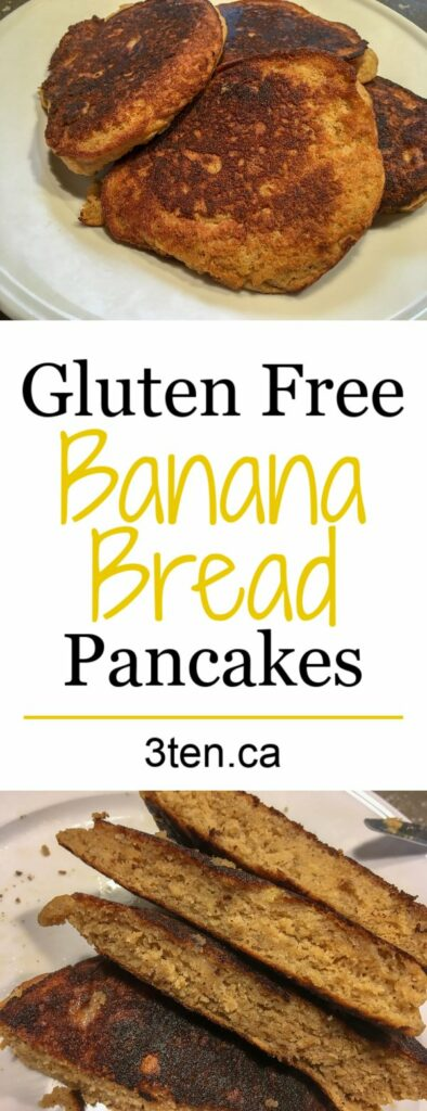Banana Bread Pancakes: 3ten.ca