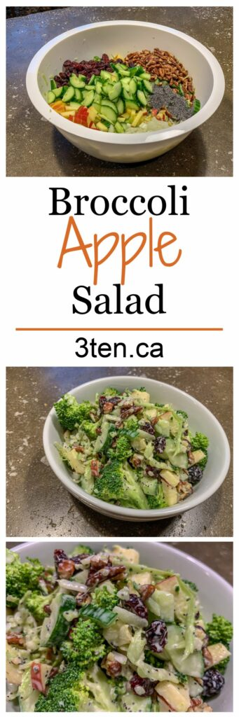 Broccoli Apple Salad: 3ten.ca