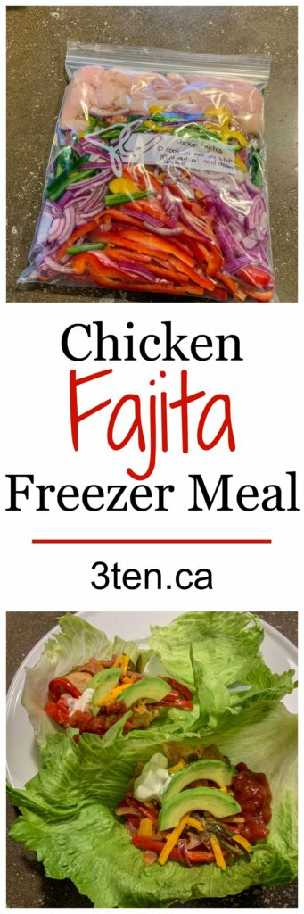 Chicken Fajitas: 3ten.ca