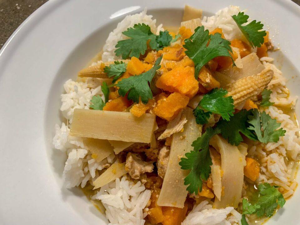 Chicken Sweet Potato Curry: 3ten.ca