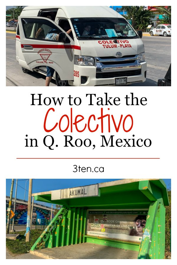 How to take the Colectivo: 3ten.ca