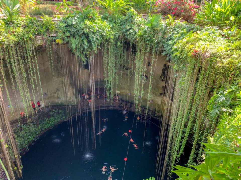 Cenote Ik Kil Mexico: 3ten.ca