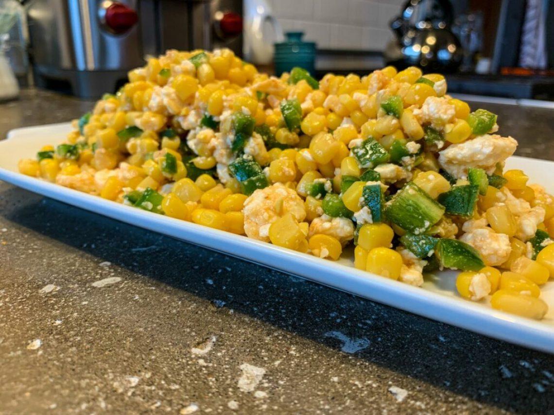 Corn and Feta Salad: 3ten.ca