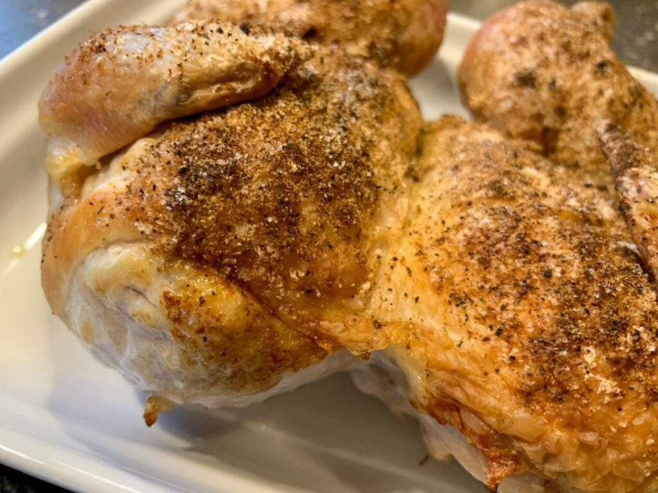 Flat Roasted Chicken: 3ten.ca