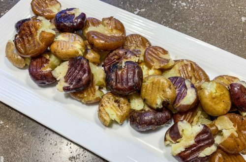 Smashed BBQ Potatoes: 3ten.ca