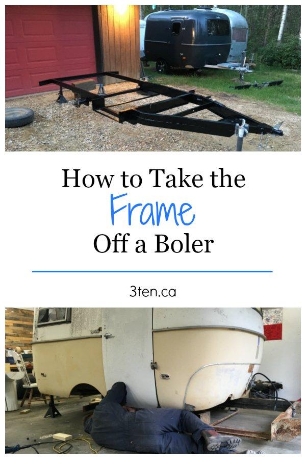How to Take the Frame Off a Boler: 3ten.ca