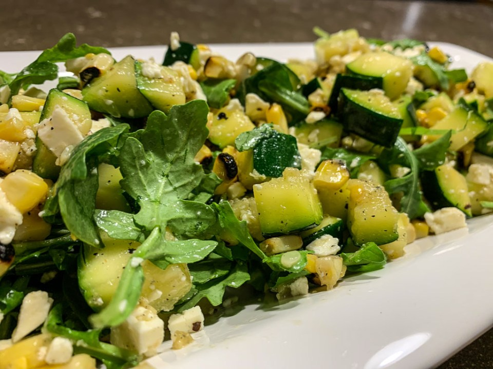 Grilled Corn and Zucchini Salad: 3ten.ca