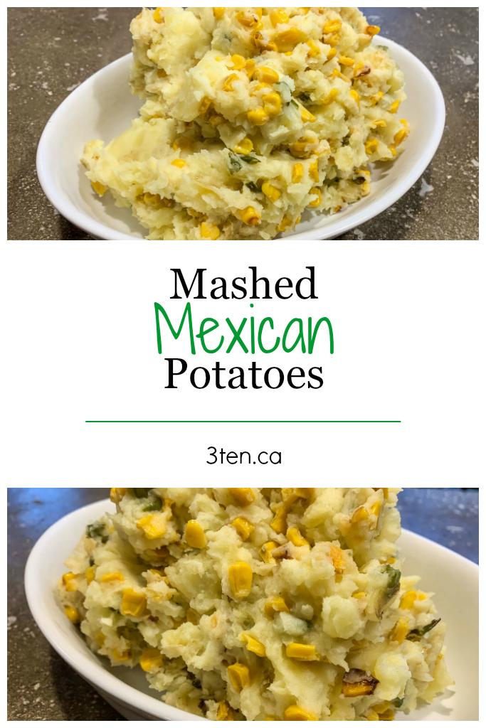Mexican Mashed Potatoes: 3ten.ca