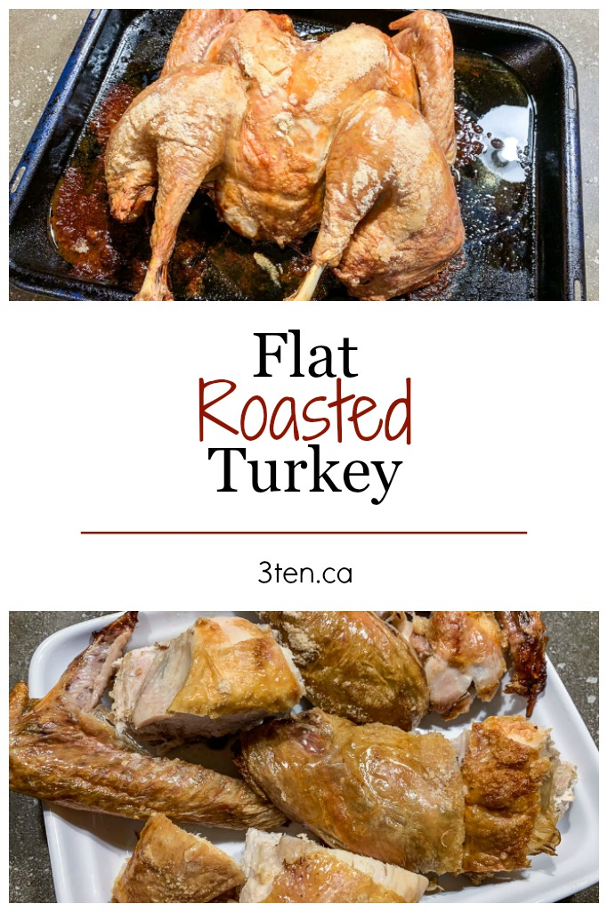 Flat Roasted Turkey: 3ten.ca