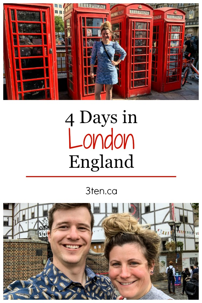 4 Days in London: 3ten.ca