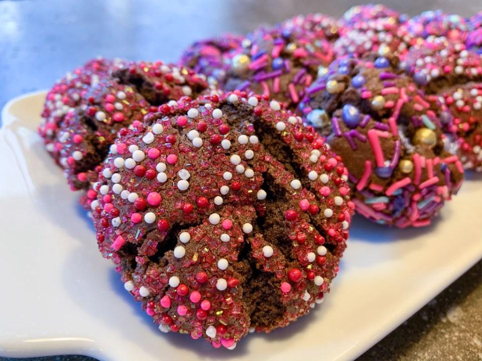 Chocolate Valentine's Day Cookies: 3ten.ca