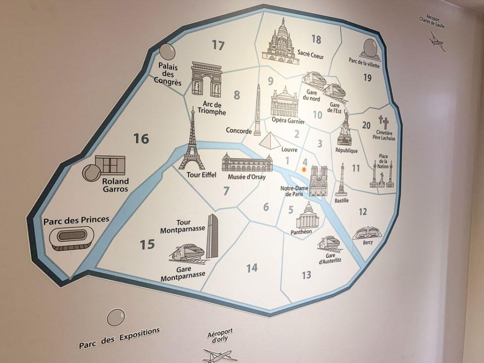 Map of Paris: 3ten.ca