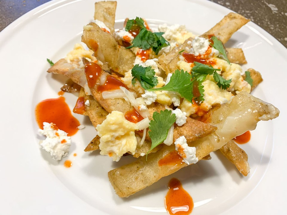 Mexican Chilaquiles: 3ten.ca