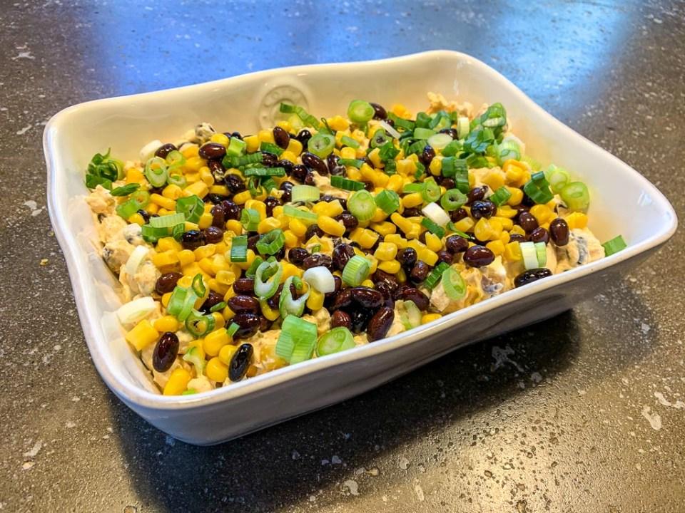Cheesy Black Bean and Corn Dip: 3ten.ca