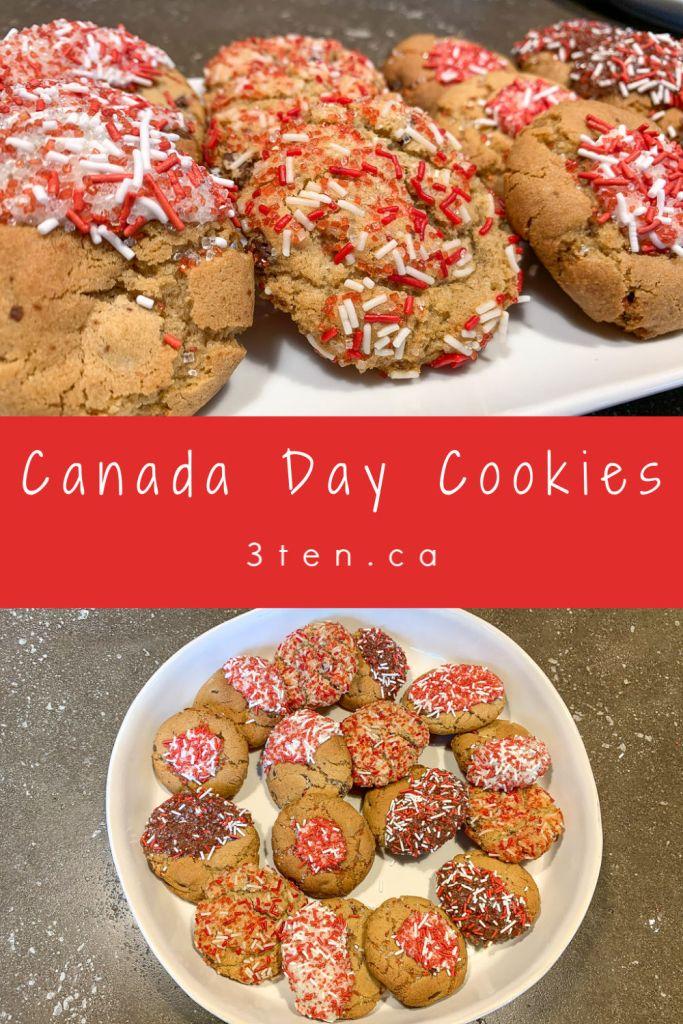 Canada Day Cookies: 3ten.ca