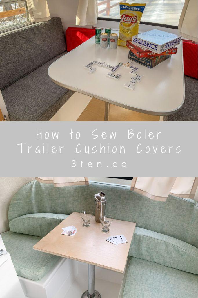 How to Sew Boler Trailer Cushion Covers: 3ten.ca
