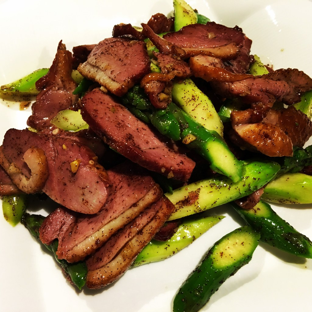 stir fry duck breast