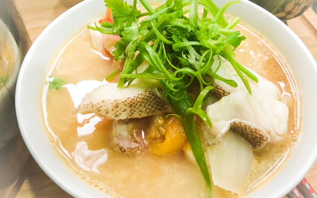 Malaysian Fish Head Soup Recipe with Rice Noodle 马来西亚鱼头米粉秘方