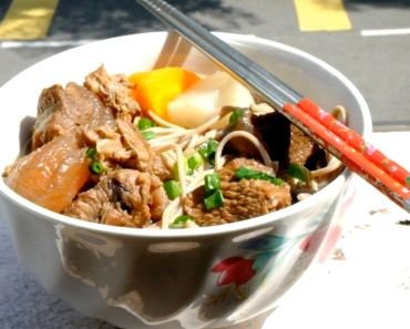 Hong Kong Style Beef Brisket Noodles