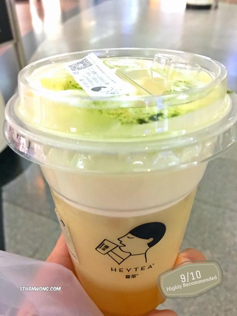 HEYTEA Cheese Green Tea