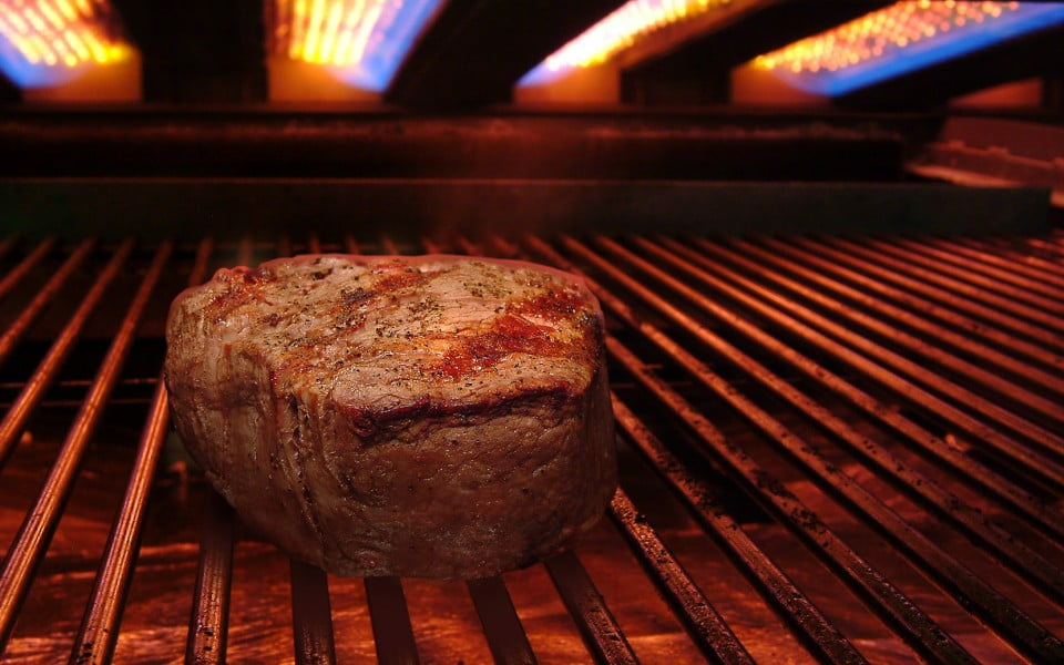 grill meat