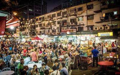 Best Food Streets in Kuala Lumpur worth mentioning 2017
