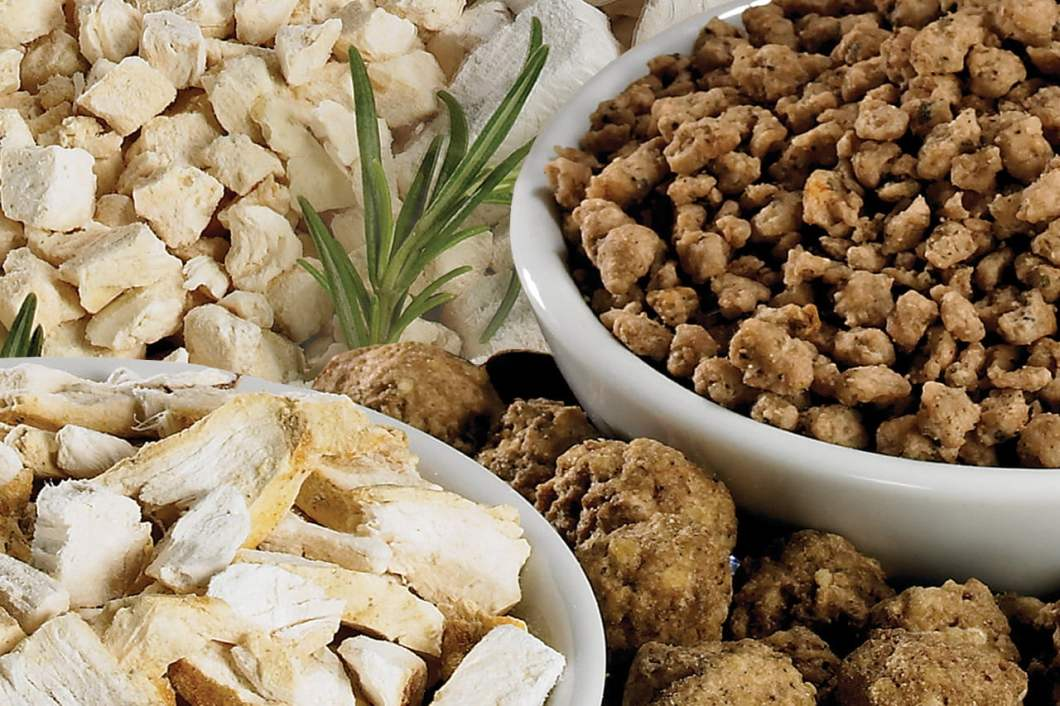 freeze drying meat