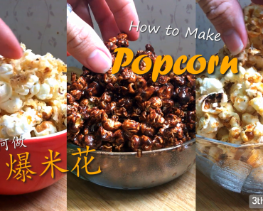 make popcorn at home