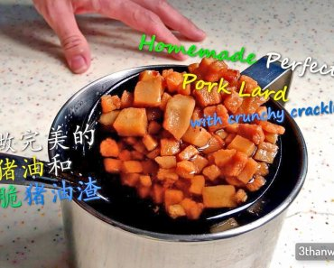 猪油渣, 猪油 lard