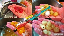 colorful boba pearls recipe