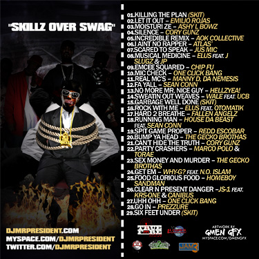 Highlights include lyrical contributions from Atlas,' Manny D, Wale and Hellzyea! amongst many more talented artists.
