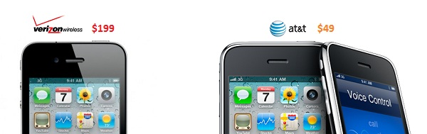 Which Is The Better Deal, Verizon's iPhone 4 or AT&T's $49 ...
