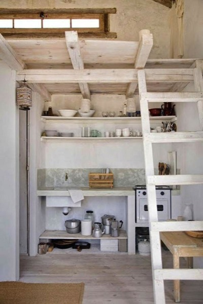 tiny house with a full kitchen