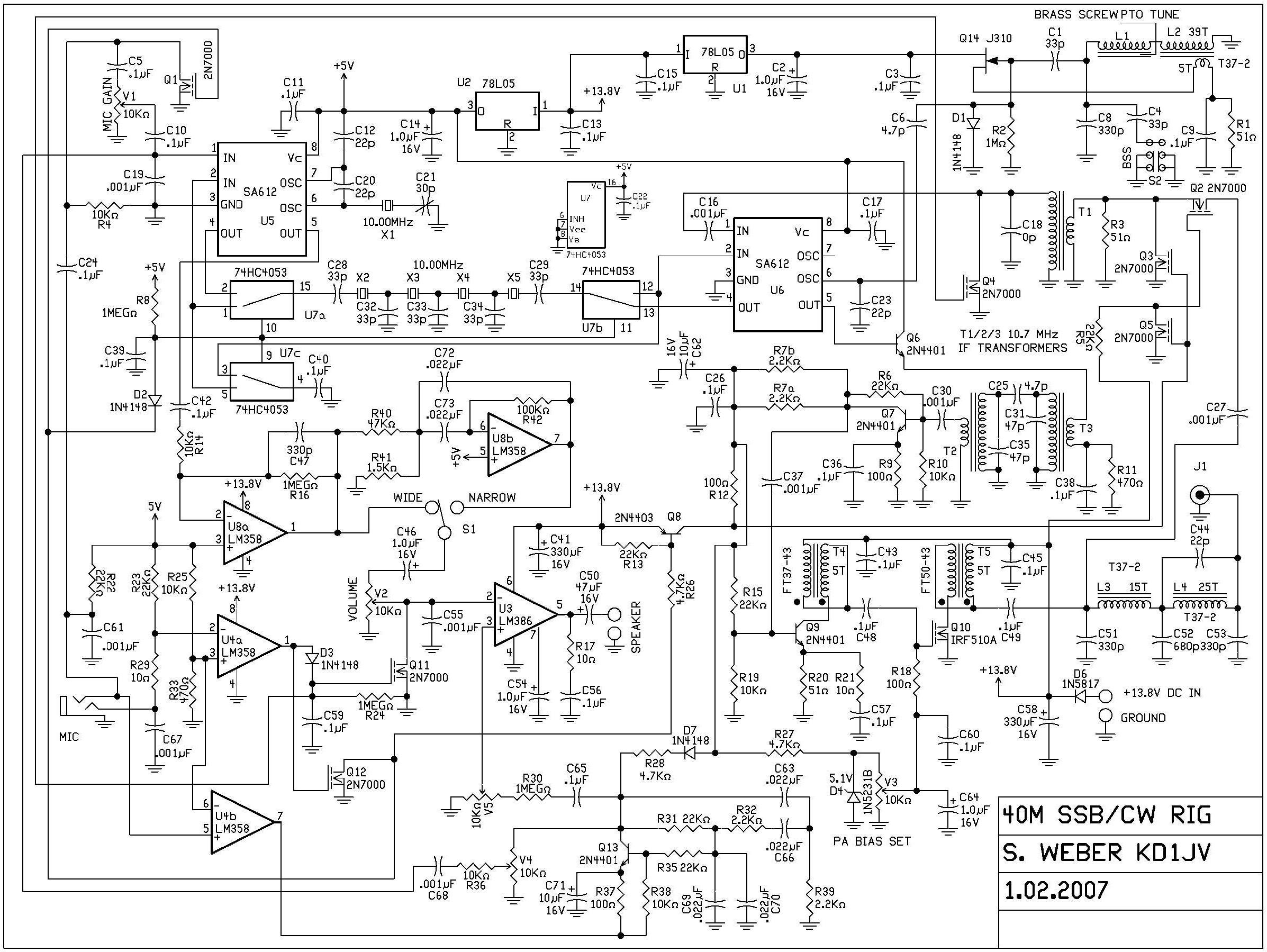 Mmr40 Emetteur Recepteur Blu Cw