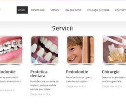 Site pe WordPress pentru un cabinet stomatologic