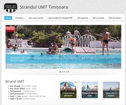 Site prezentare ștrand pe WordPress