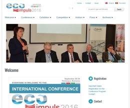 Site pe WordPress pentru o conferință științifică