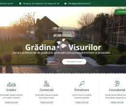 Grădina Visurilor – un site pe WordPress