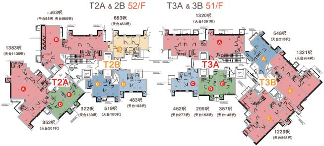 柏傲莊 平面圖 2