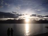 Sunrise at the Pangong Tso