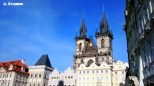 The spires of Tyn Cathedral