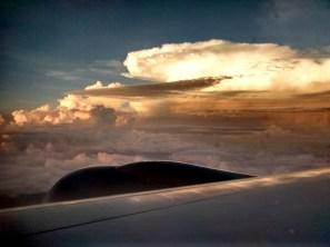 Around sunrise - somewhere above Thailand / Malaysia