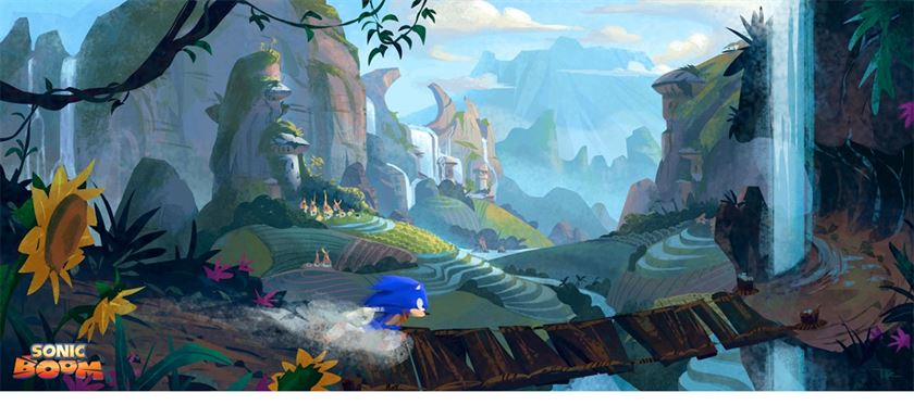 The History of Sonic Boom - Multimedia Experiment of the Blue Blur