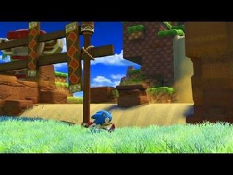 Sonic Forces – Classic Sonic Gameplay (Green Hill Zone) Footage