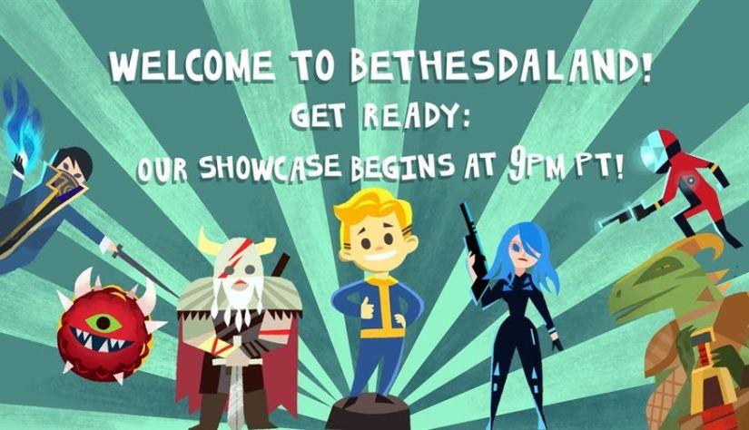 Bethesda #BE3 – E3 2017 Showcase Conference @ 12AM EST