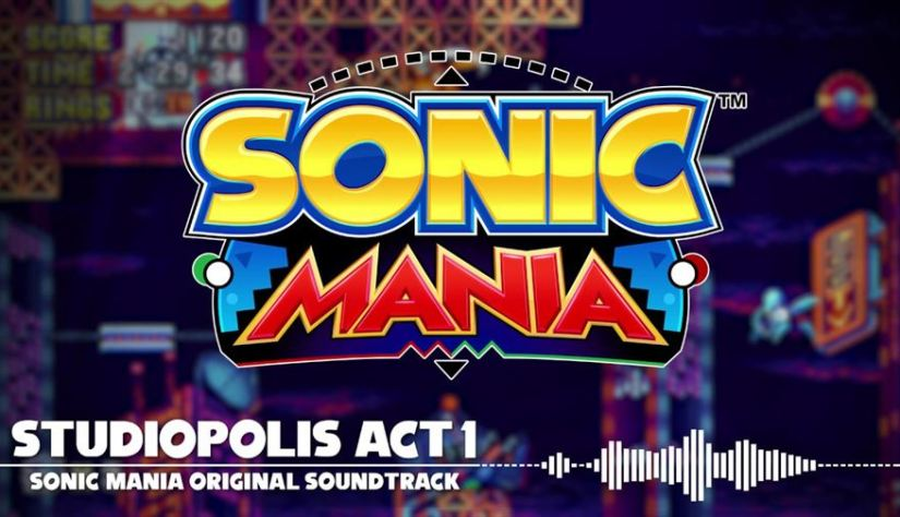 SEGA uploads music for Sonic Mania and Sonic Forces