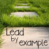 lead by example