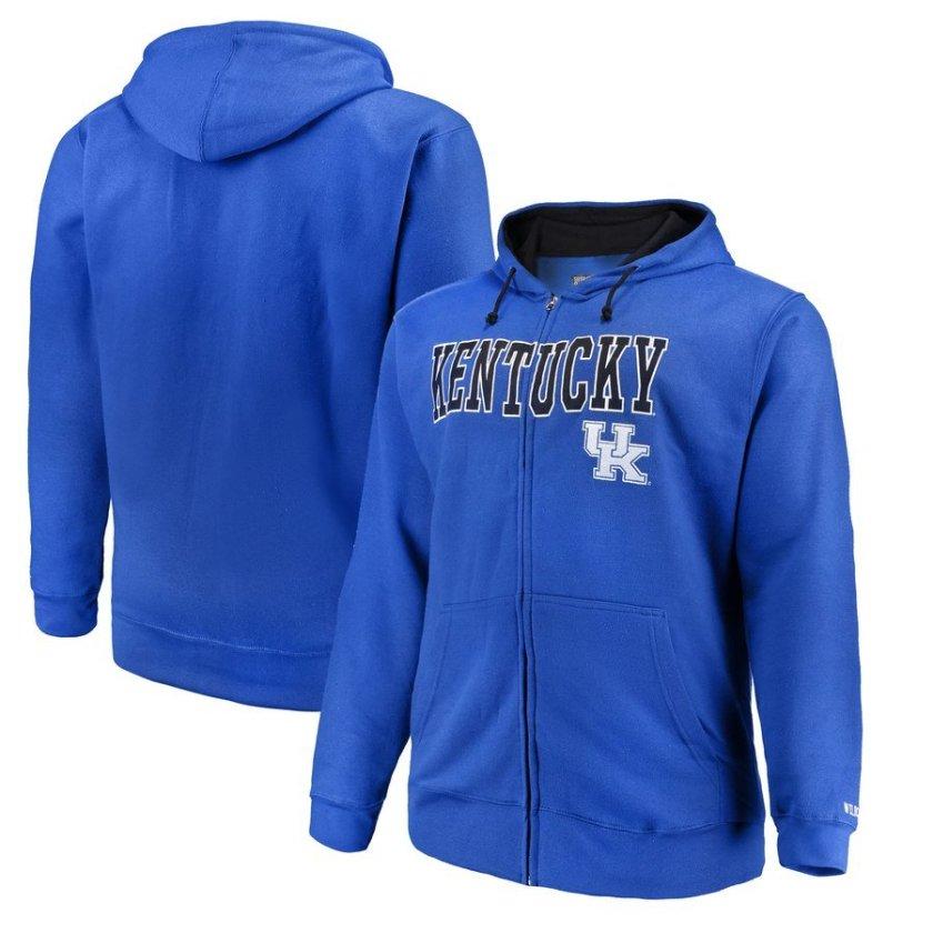 big and tall kentucky wildcats hoodies