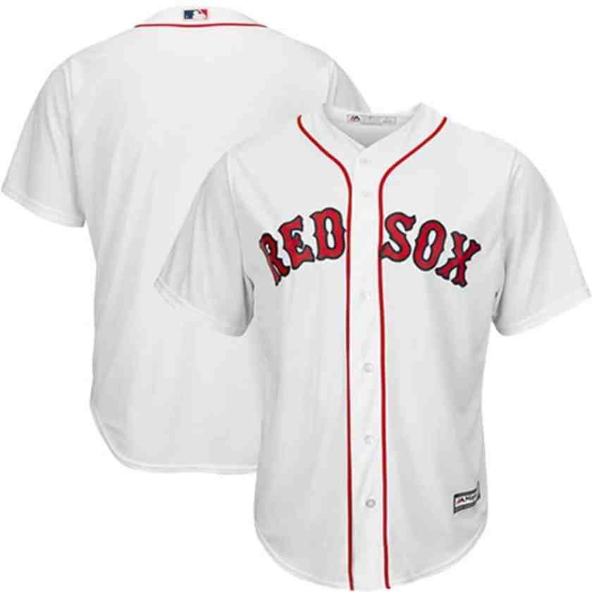 blank mlb jerseys (red sox)